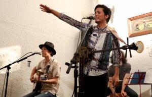 宜保和也ライブ 片山義美(ギター)