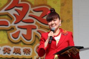 鶴見ウチナー祭 MC シーサー玉城(イチャリバーズ)