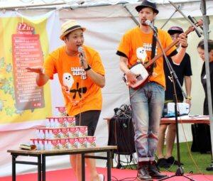 鶴見ウチナー祭 赤いときめきミッドランドステージ 兜蟹(お笑いLIVE)