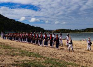 西表島 干立の節祭